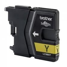Tusz Brother LC985Y Yellow DCPJ315W 260str.