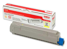 Toner OKI C8600/C8800 Yellow 6k