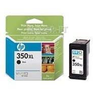 Wkład atramentowy HP No 350 XL, CB336EE Black 25ml Officejet J5